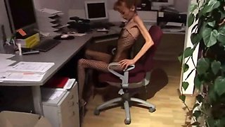 video titel: Lovely anorexic secretary || porn tgas: lingerie,lovely,secretary,skinny,xxxdan