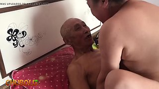 video titel: Chinese old man || porn tgas: amateur,asian,chinese,granny,jizzbunker