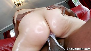 video titel: 20 years old babe leah cortez riding black monster cock || porn tgas: 20 years old,babe,big cock,black,jizzbunker