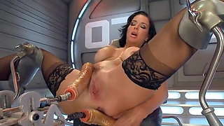 video titel: VA fuck by machine and squirt    porn tgas: fuck,sex machine,squirt,xhamster