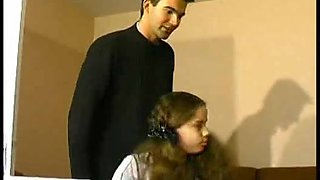 video titel: Student legal age teenager drilled by two dongs    porn tgas: big tits,blowjob,brunette,doggy,upornia