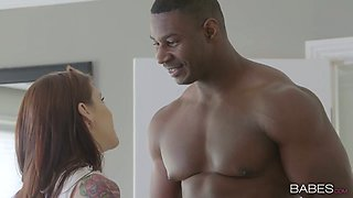 video titel: Gorgeous bitch Anna De Ville goes wild with her new BBC lover || porn tgas: babe,bbc,big cock,bitch,anysex