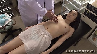 video titel: japanese cowgirl is fondled nicely by doctor in uniform || porn tgas: asian,cougar,cowgirls,doctor,bravotube