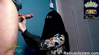 video titel: Niqab Woman Wears Niqab And Takes Dick compilation || porn tgas: african,american,arab,black,xhamster