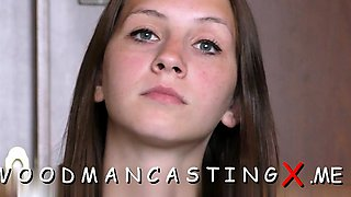 video titel: Pretty babe provides her narrow anal at a casting || porn tgas: amateur,anal,ass,babe,