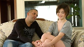 video titel: Cute short haired virgin Marfa Piroshka is shy on casting || porn tgas: casting,cute,shy,virgin,viptube