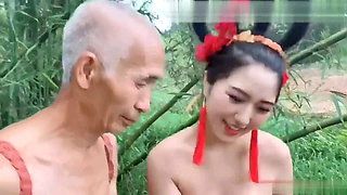 video titel: Ancient costume, female ghost tempts 70 year old farmer || porn tgas: asian,chinese,costumes,female,xhamster