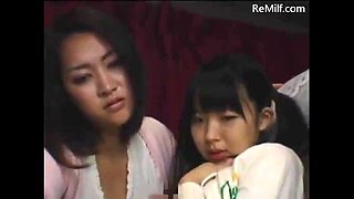 video titel: Japanese mom and her daughter blowjob for strangers on midnight bus || porn tgas: blowjob,car,daughter,japanese,jizzbunker