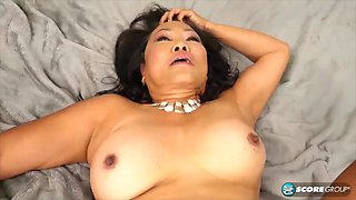 video titel: 70 year old asian gilf pounded || porn tgas: asian,granny,old and young,pounding,jizzbunker