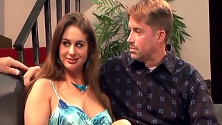 video titel: This Housewife Gets Pimped Out By Husband In Threesome || porn tgas: 3some,anal,big cock,big tits,upornia