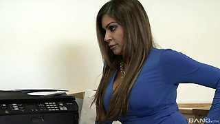 video titel: sexy secretary Nikki Capone adores sex with her colleague in her office || porn tgas: big tits,blowjob,couple,doggy,anyporn