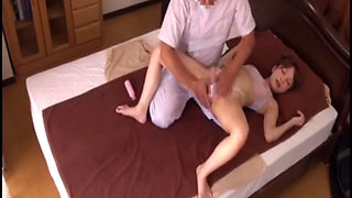 video titel: Japanese Wife Massage Fucked Home While Hubby Out || porn tgas: fuck,homemade,hubby,japanese,