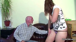 video titel: German 18yr old Teeny Seduce to Fuck by old Grandpa || porn tgas: european,fuck,german,grandpa,jizzbunker