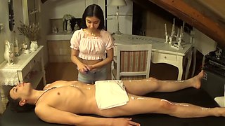 video titel: A Young Teenager Massages Me Till I Cum In Her Mouth || porn tgas: cum,massage,mouth,teenager,jizzbunker