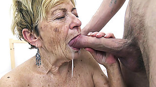 video titel: hairy years old granny banged by her toyboy || porn tgas: banged,big cock,granny,hairy,xhamster