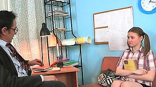 video titel: Teacher forcing himself on lovely chick || porn tgas: chick,lovely,teacher,nuvid