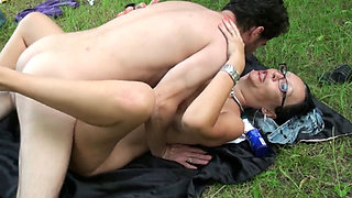 video titel: Mature Brunette Fucked In The Park || porn tgas: anal,ass,big cock,big tits,pornone_com