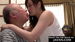 video titel: Japanese Babe Helps Out Grandpa || porn tgas: grandpa,japanese,