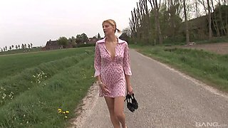video titel: Busty blonde dick eater is ready to pleasure two masked fellas || porn tgas: 3some,big tits,blonde,busty,bravotube