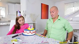 video titel: doing 18 years with a great gift || porn tgas: 18 years old,big cock,brunette,hardcore,jizzbunker