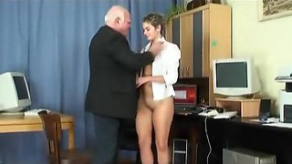 video titel: Old Stud Young Slut Scene || porn tgas: brunette,old and young,sluts,small tits,videotxxx