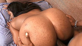 video titel: Ebony babe with a juicy butt and big titties takes a big black cock || porn tgas: african,ass,babe,bbc,pornone_com
