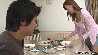 video titel: Asian pervert gives a cunnilingus to yummy girlfriend of elder brother    porn tgas: asian,brother,cunnilingus,girlfriend,anysex