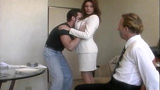 video titel: Wild fucking between a lucky guy and cheating housewife Rayleene || porn tgas: big tits,brunette,cheating,cuckold,bravotube