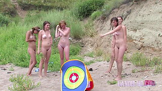 video titel: Nude Girls play beach games || porn tgas: babe,beach,games,girl,xhamster