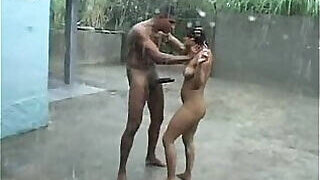 video titel: Villagers fucking each other in the pouring rain || porn tgas: amateur,amazing,big cock,brazilian,PornoSex