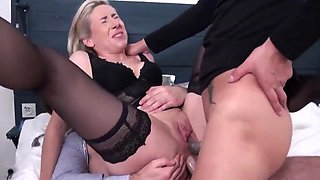 video titel: French mature double penetrated || porn tgas: cougar,double,european,french,hotmovs
