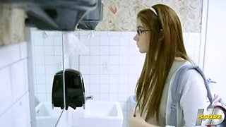 video titel: at the break in the school || porn tgas: blonde,college,gangbang,group,