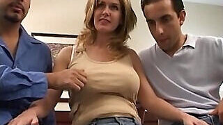 video titel: Stacked wife wants to take on two dicks at once || porn tgas: amateur,anal,ass,blonde,PornoSex