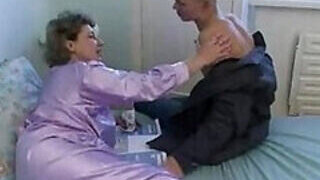 video titel: Grandmothers pussy is the tastiest treat for him    porn tgas: bald pussy,blowjob,family,gay,PornoSex
