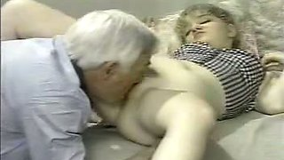 video titel: Another Grandpa Young girl || porn tgas: amateur,blowjob,doggy,grandpa,yourlust