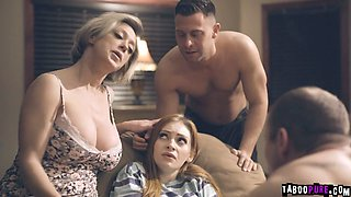 video titel: Pervert family welcome Maya with cock and pussy to fuck    porn tgas: cock,college,family,fuck,gotporn