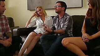 video titel: Cougar cuties are about to get fucked for real || porn tgas: ass,blonde,cougar,family,PornoSex