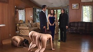 video titel: Submissive Japanese slave MILFs used outdoors and fucked hard || porn tgas: asian,bdsm,fetish,fuck,bravotube