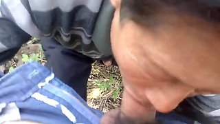 video titel: Chinese daddy sucks dry his friend in the countryside || porn tgas: amateur,asian,blowjob,brunette,gotporn