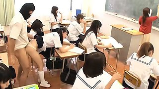 video titel: Jav Idol Schoolgirls Fucked By Masked Man In There Classroom || porn tgas: asian,classroom,college,creampie,drtuber