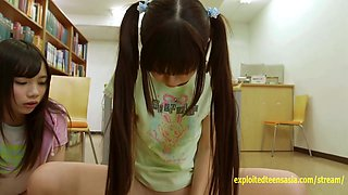 video titel: Atomi Shuri Asada Yuuri And Pals Get Creampies In The Library Very Petite And Extremely Cute Teens || porn tgas: creampie,cute,japanese,petite,videotxxx
