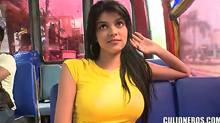 video titel: Latin Sluts Gettin Slammed for pennies on the Colombian Sex Bus || porn tgas: anal,blowjob,car,colombian,