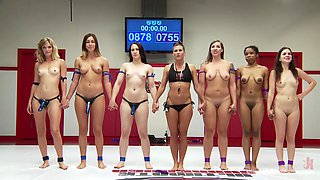 video titel: All Are Become Crazy In Fight || porn tgas: babe,blonde,brunette,crazy,flyflv