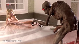 video titel: Boogeyman monster fucks busty blonde in the bathroom. 3d sex || porn tgas: 3d,bathroom,big tits,blonde,xxxdan