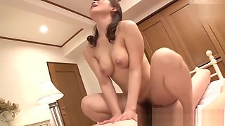 video titel: Japanese mom Kurata Mao fucking with son as soon as father goes out || porn tgas: father,fuck,japanese,son,