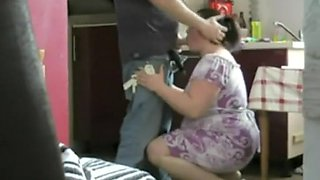 video titel: Chubby housewife spied with a teen boy || porn tgas: boy,chubby,housewife,teen,voyeurhit
