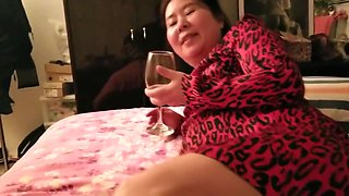 video titel: Asian Milf Beauty Red Dress Feet || porn tgas: asian,beauty,foot,