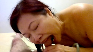 video titel: Chinese mature hooker blow job sex in hairy pussy then anal || porn tgas: anal,blowjob,chinese,hairy,