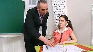 video titel: Charming college girl lures her teacher on the extra class || porn tgas: charming,college,girl,teacher,xcafe