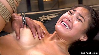 video titel: Black master brutal fucks Asian slave || porn tgas: asian,black,brutal,fuck,txxx